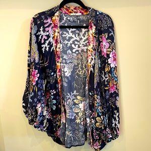 Anthropologist Kimono Top